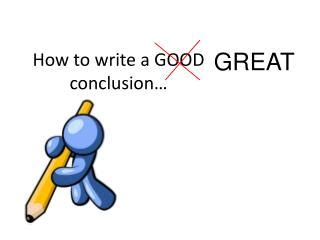 How to write lab report conclusion